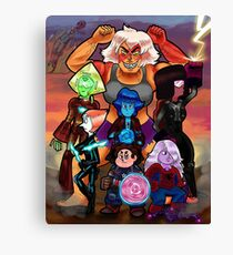 Avengems Assemble Canvas Print