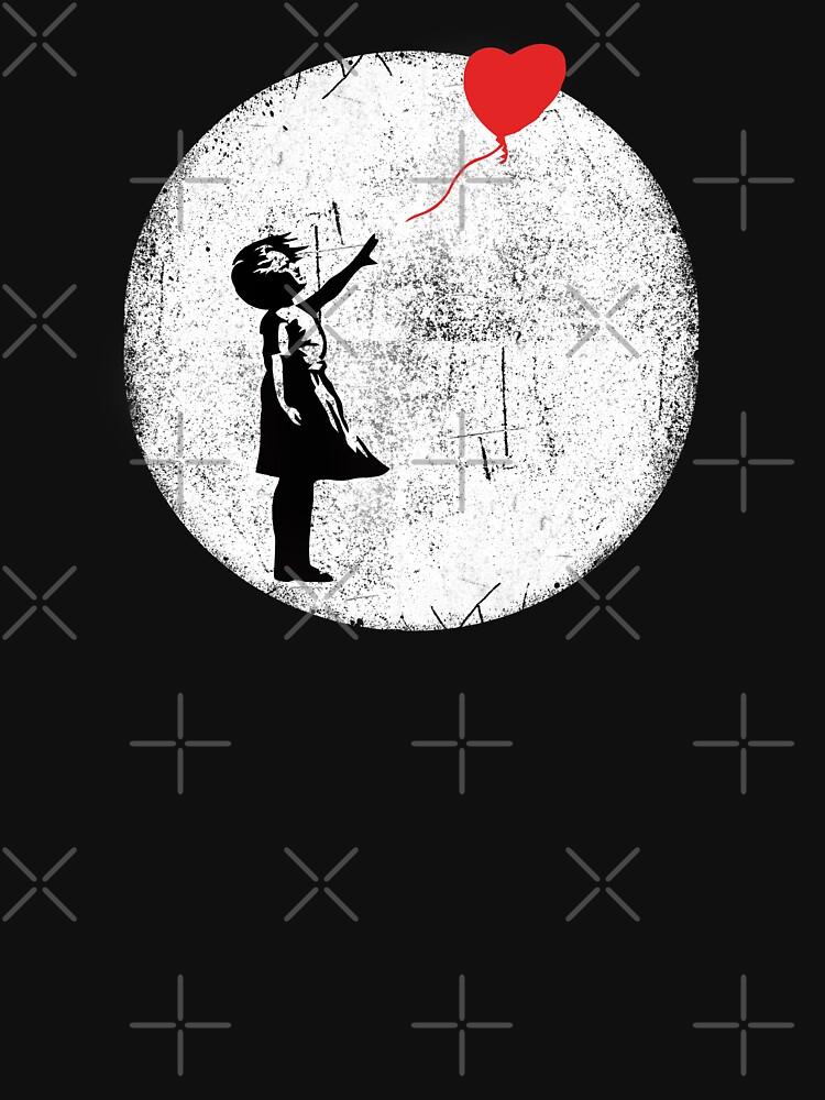 Ballon Girl Banksy by belugastore