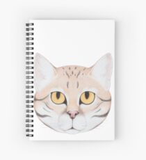 Black-footed Cat Spiral Notebook