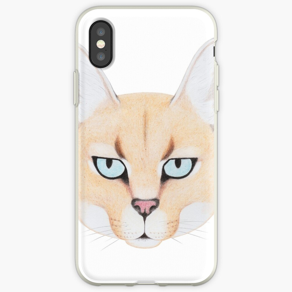 African Golden Cat iPhone Case & Cover