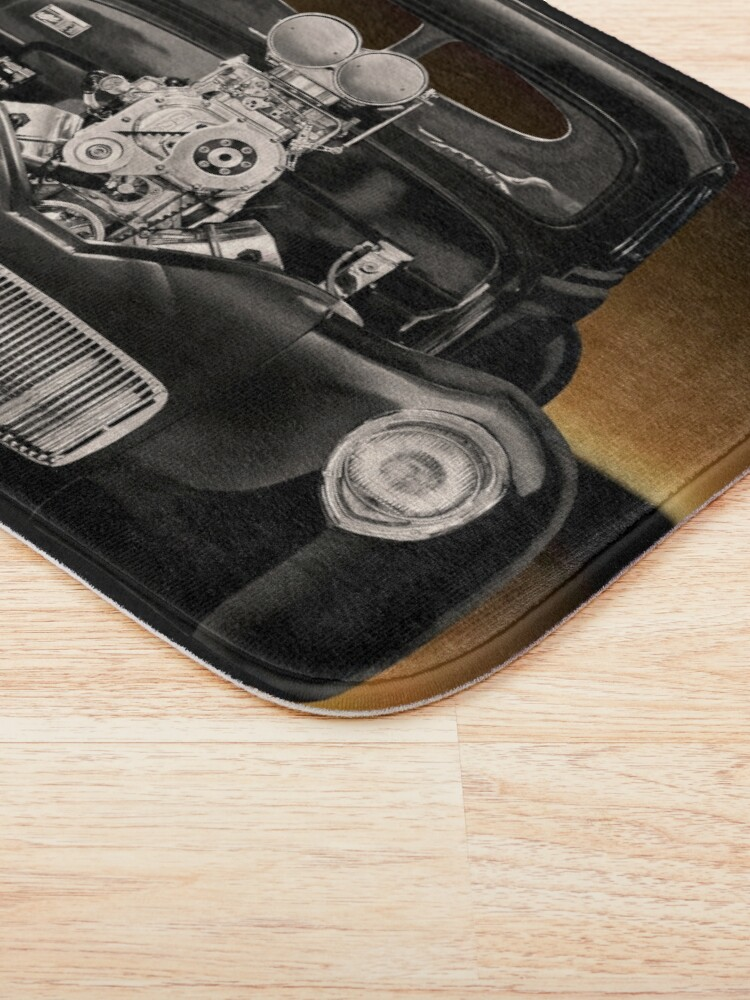 Alternate view of 1941 Willys 'Pro Street' Coupe Bath Mat