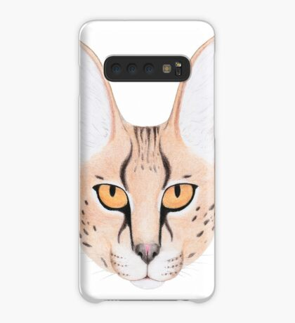 African Serval Cat Case/Skin for Samsung Galaxy
