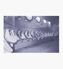 Toilet humour Photographic Print