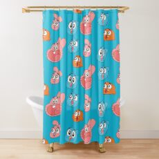 The Amazing World of Gumball Shower Curtain