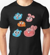 The Amazing World of Gumball Slim Fit T-Shirt
