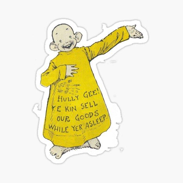 The Yellow Kid Sticker