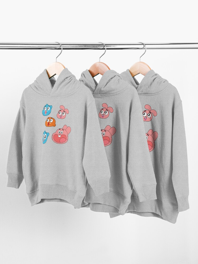 Alternate view of The Amazing World of Gumball Toddler Pullover Hoodie
