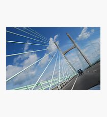 seven bridge wales and england border Photographic Print