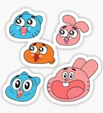 The Amazing World of Gumball Sticker