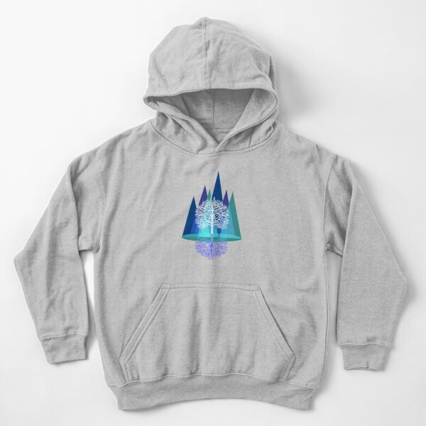 Nature's Reign  Kids Pullover Hoodie