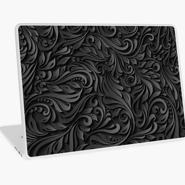 Dark Floral Laptop Skin