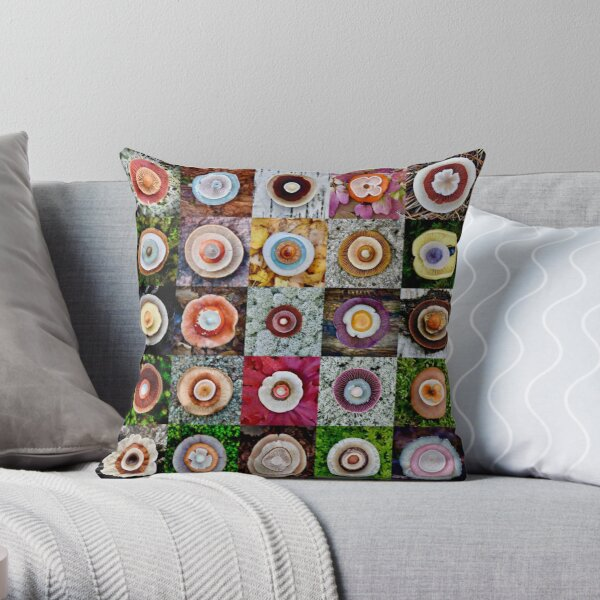 Forest Blanket Throw Pillow