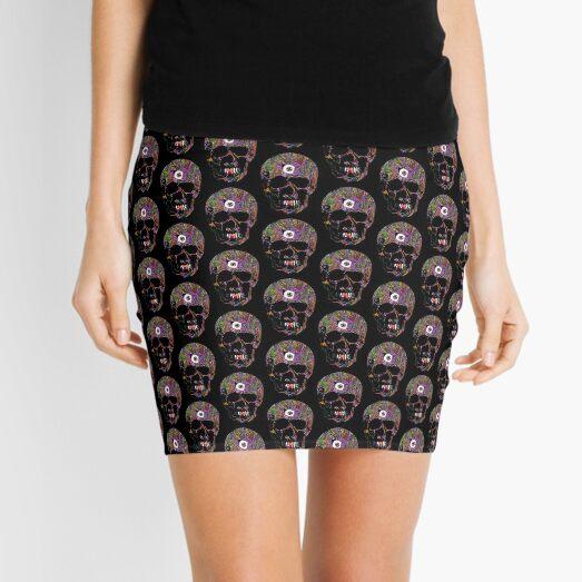 One Eyed Skull | Graveyard | Pride Mini Skirt