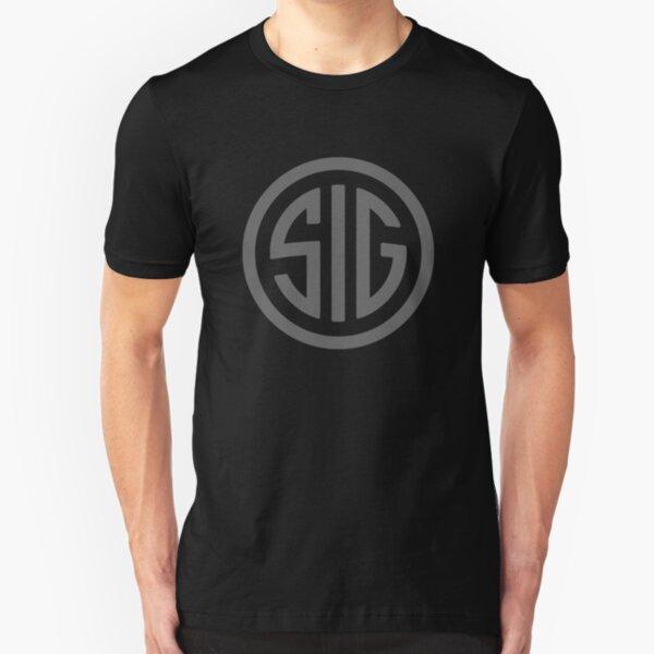 Sig Sauer Fire Gun Slim Fit T-Shirt