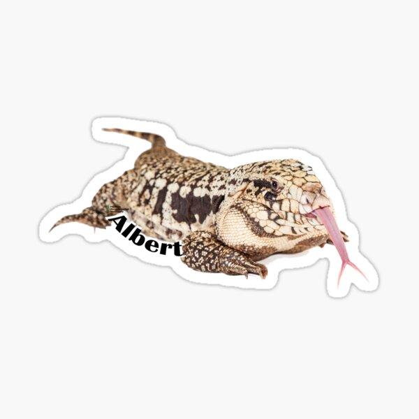 Albert the Tegu Sticker