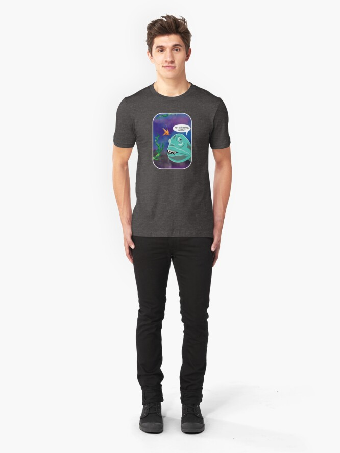 Alternate view of Still staring Slim Fit T-Shirt