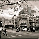 Winter Chill in Melbourne City by Hany  Kamel