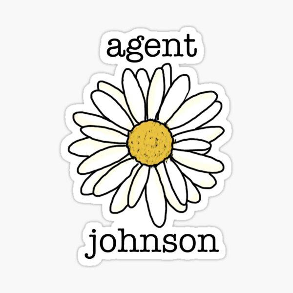 agent johnson Sticker
