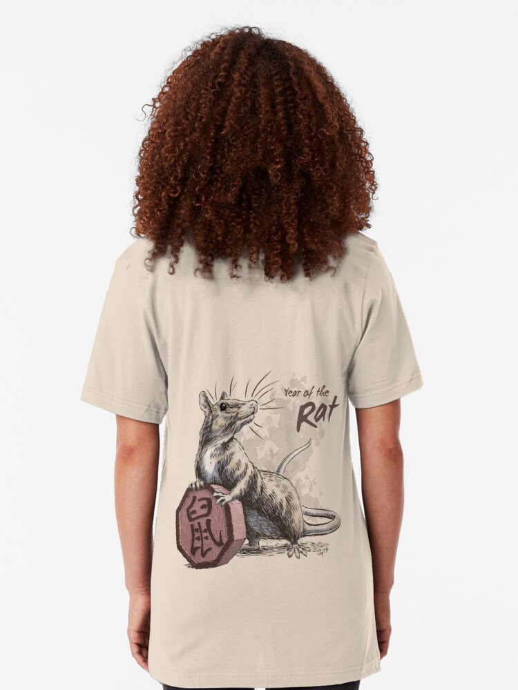 Alternate view of Year of the Rat Slim Fit T-Shirt
