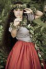 Hula Dancer by Zach Pezzillo