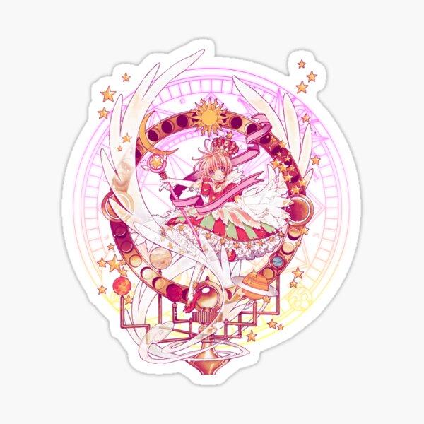 Sakura's Cherry Orrery Sticker