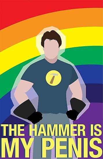 the hammer is... by Shabnam Salek