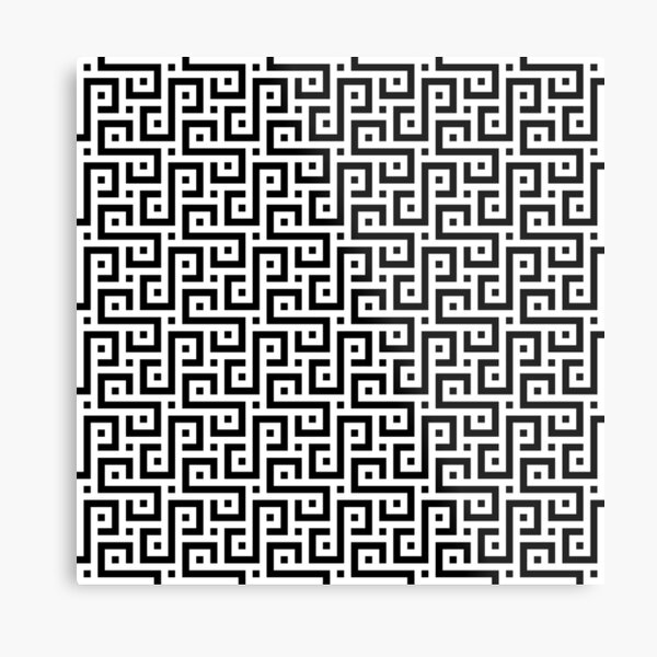 #Illusions gif, #abstract, #design, #pattern, art, illustration, twirl, hypnosis, twist, target, spiral Metal Print