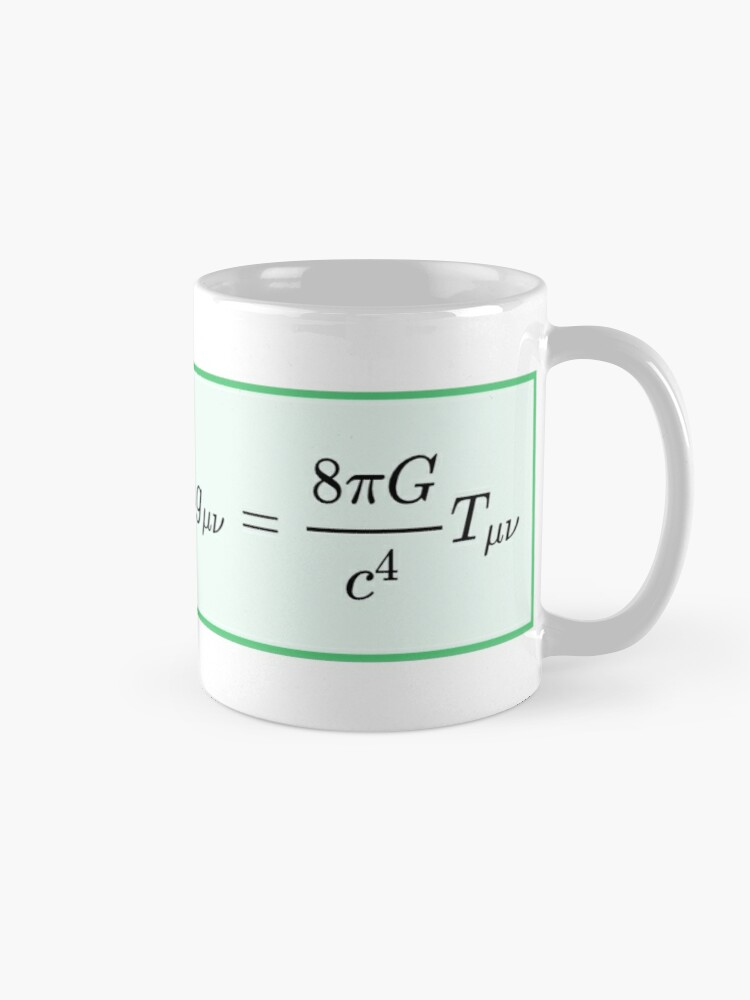 Alternate view of Einstein field equations EFE: General Theory of Relativity - Fundamental Interaction of Gravitation Mug