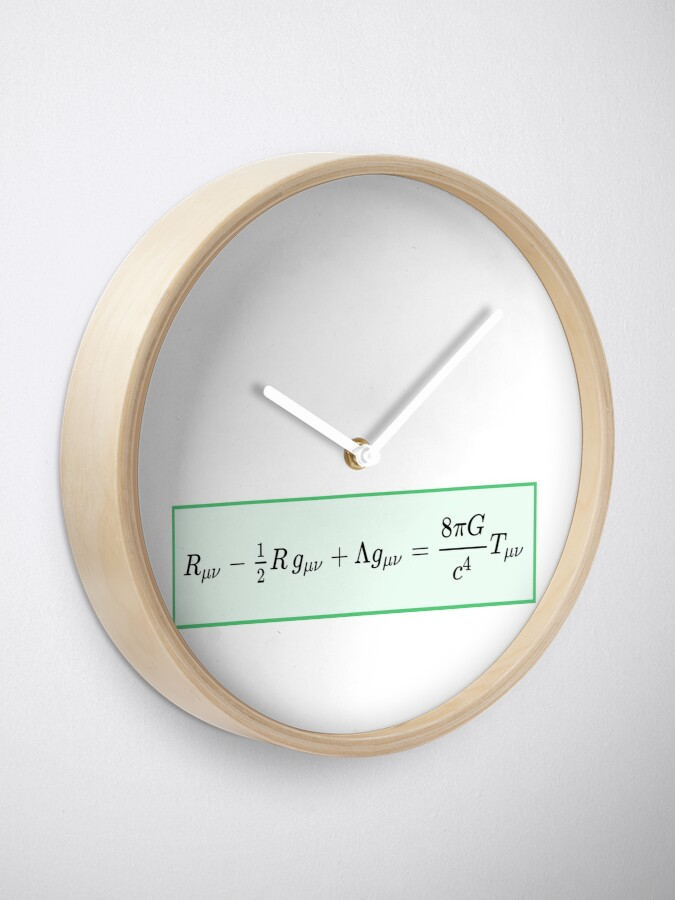 Alternate view of Einstein field equations EFE: General Theory of Relativity - Fundamental Interaction of Gravitation Clock