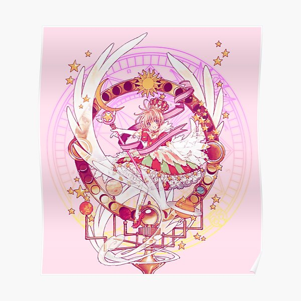 Sakura's Cherry Orrery Poster