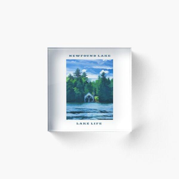 Newfound Lake - Lake Life Acrylic Block