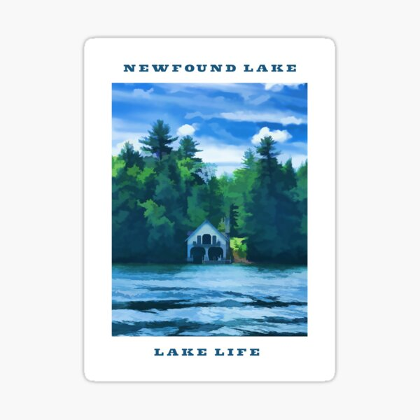 Newfound Lake - Lake Life Sticker