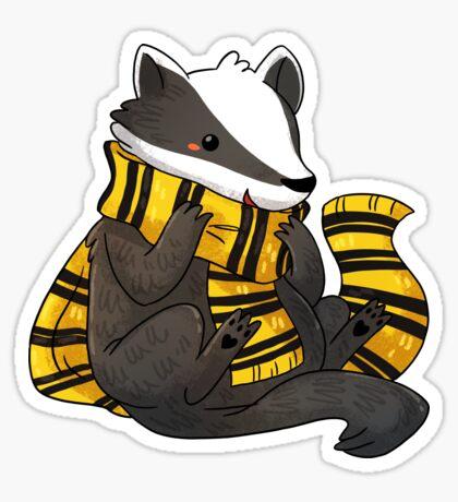 Badger: Stay Kind Sticker