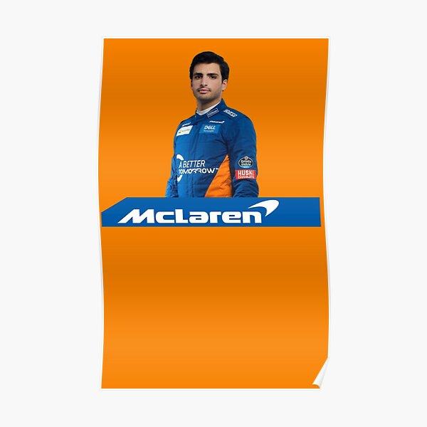 Carlos Sainz McLaren Póster