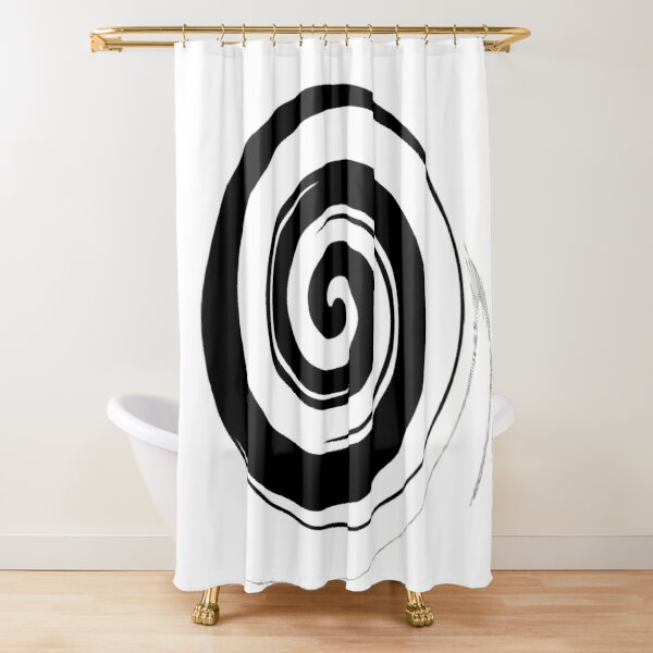 #Ancient #Chinese #Symbol Called Rai-Chi-Tu, or Diagram of the Supreme #Ultimate Shower Curtain