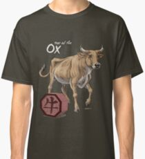 Year of the Ox (for dark shirts) Classic T-Shirt