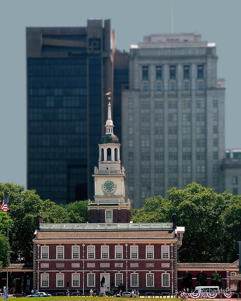 Independance Hall, Philadelphia PA by RichardsPC