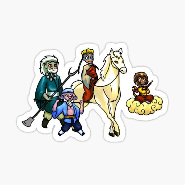 Journey To The West Sticker