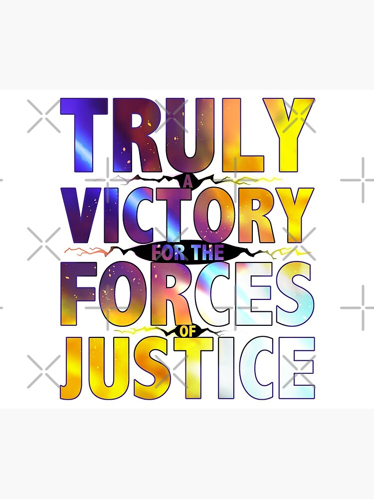 TRULY A VICTORY FOR THE FORCES OF JUSTICE by OSPYouTube