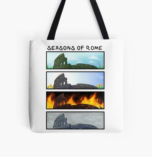 Seasons of Rome All Over Print Tote Bag