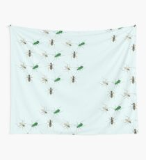 Tiger Beetle Pattern Wall Tapestry