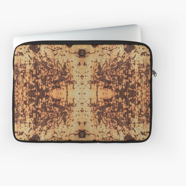 #Dirty #rusty #ScratchedIron sheet bolts nuts #Scratched #Iron Laptop Sleeve