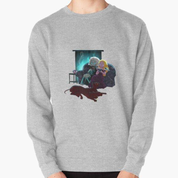 Cozy Winter Night Pullover Sweatshirt