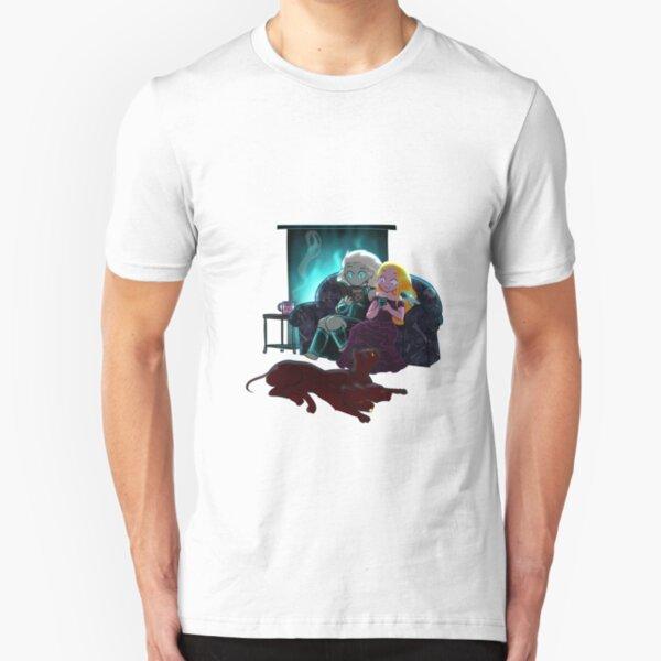Cozy Winter Night Slim Fit T-Shirt