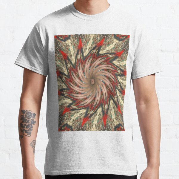 #Illusions gif, #abstract, #design, #pattern, art, illustration, twirl, hypnosis, twist, target, spiral Classic T-Shirt
