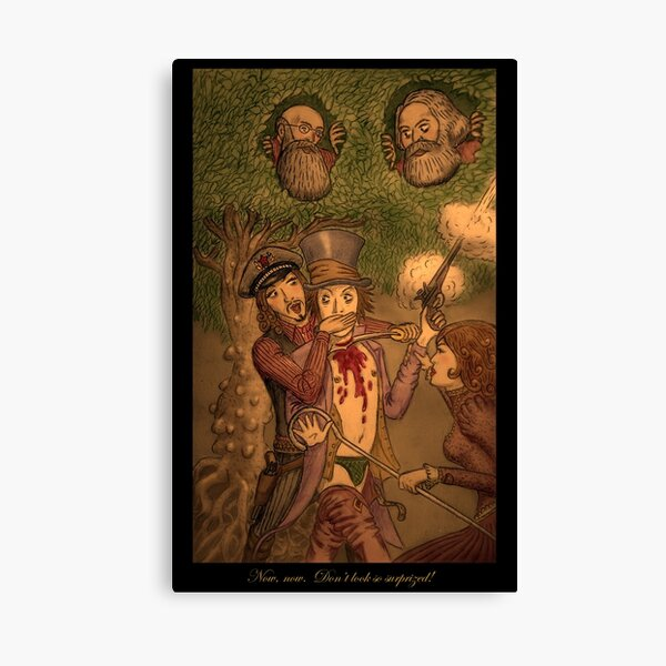 Slashing by O von Ordovich Canvas Print