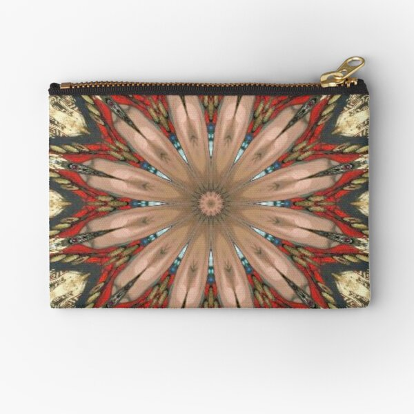 #Illusions gif, #abstract, #design, #pattern, art, illustration, twirl, hypnosis, twist, target, spiral Zipper Pouch
