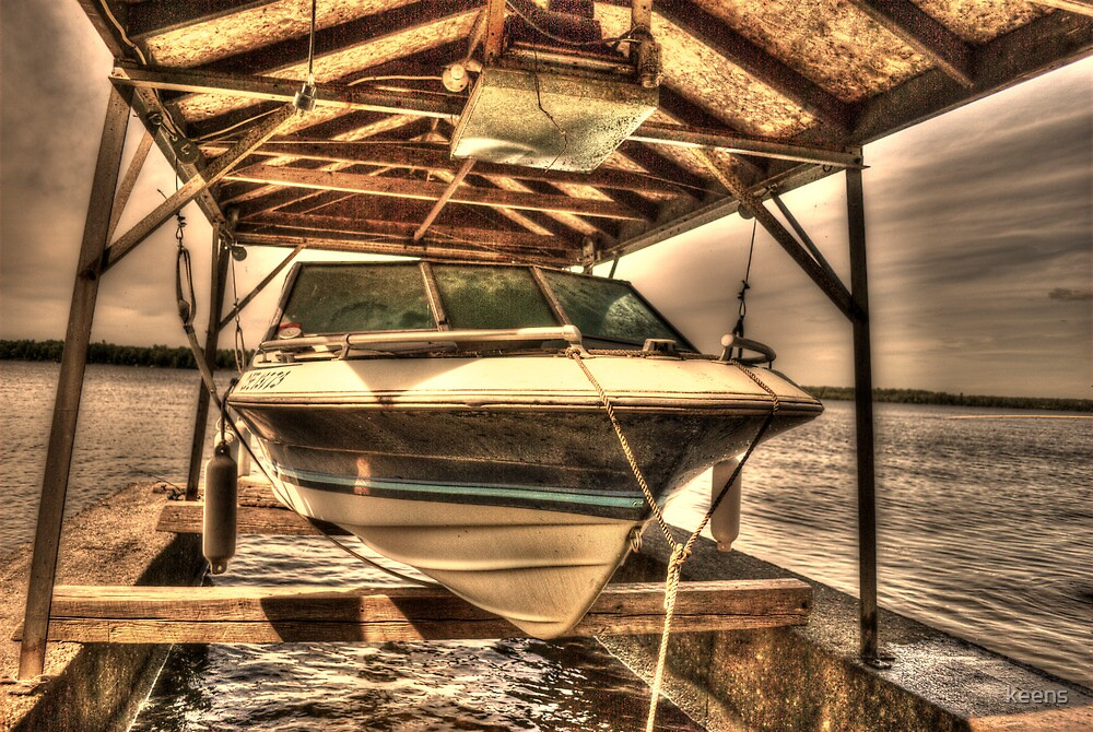 Boat out of water by keens
