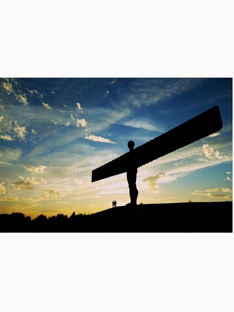 Angel of the North, Sunset, Newcastle-Gateshead by robcole