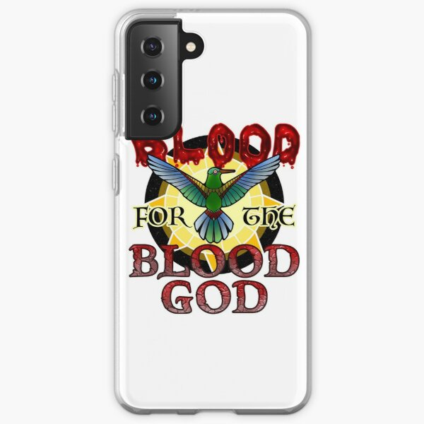 Blood for the Blood God Samsung Galaxy Soft Case